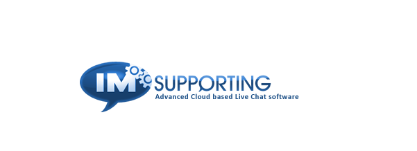 IMsupporting live chat logo