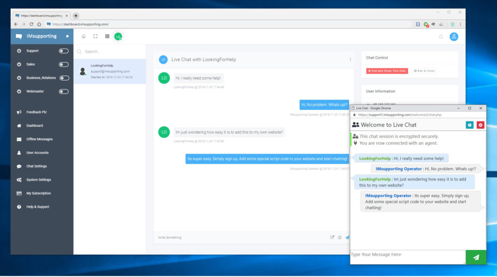 Best live chat software 2019